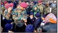 Pics inside: MS Dhoni visited school in Jammu-Kashmir