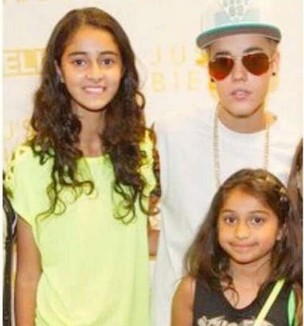 Ananya Pandey Justin Bieber