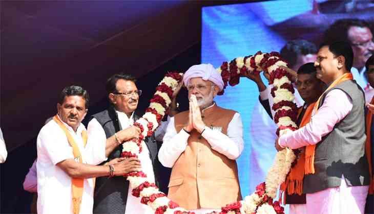 PM Modi falls back on rhetoric and tears to strike a chord in poll-bound Gujarat