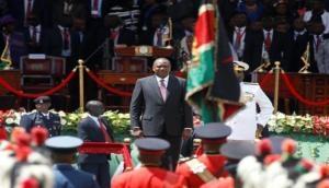 Kenya President Uhuru Kenyatta sworn in for 2nd term