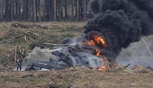 Russia: Helicopter crash in Tambov region, kills 2