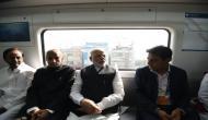 पीएम मोदी ने हैदराबाद मेट्रो का किया उद्घाटन, बने पहले सफर के गवाह