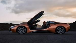 Video: Orange is the new sexy, here is the first look of BMW i8 Roadster