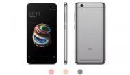 Xiaomi लाया अब तक का सबसे सस्ता 'देश का स्मार्टफोन' Redmi 5A