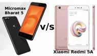 Xiaomi Redmi 5A को टक्कर नहीं दे पाएगा लेटेस्ट लॉन्च Micromax Bharat 5