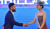 Here is what happened when Miss World Manushi Chhillar met Indian skipper Virat Kohli