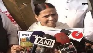 Will hold Home Ministry responsible for any untoward incident: Rabri Devi