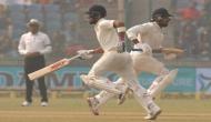 टीम इंडिया ने लंच तक गवांए 2 विकेट, विजय ने मारी फिफ्टी