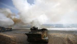 South Korea, US begin massive air combat drills amid North Korean threats