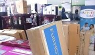 Loot at a Delhi TV showroom, products worth Rs 4 lakhs stolen