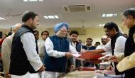 राहुल गांधी ने पार्टी की कमान संभालने की तरफ बढ़ाया कदम, दाखिल किया नामांकन
