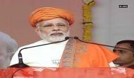 PM Narendra Modi says,'Congress did injustice with Ambedkar, Sardar Patel'