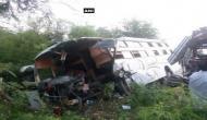 Mangaluru: One dead, 20 injured in bus-truck collision