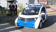 Panasonic develops two-passenger automatic driving vehicle