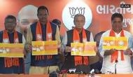 BJP releases 'sankalp patra' for Gujarat Assembly elections