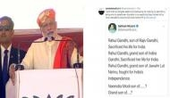 'India is my everything': PM Modi responds to Youth Congress leader's Twitter diatribe