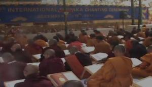 Monks attend 10-day International Buddhist ritual in Bodh Gaya