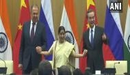 Sushma Swaraj holds 15th RIC trilateral meet with Russian, Chinese counterparts