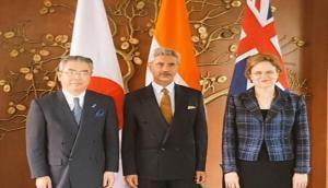 India, Australia, Japan discuss maritime security, counter-terrorism