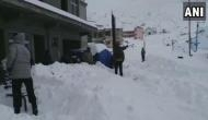 Continuous snowfall dips temperatures in Northern areas