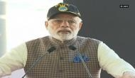 Prime Minister Narendra Modi dedicates INS Kalvari to nation