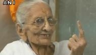 Gujarat polls: PM Modi's mother casts vote