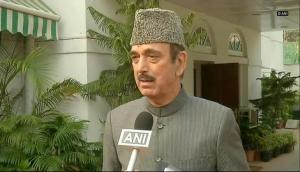 Ghulam Azad blames PM Modi, erstwhile PDP-BJP government for 'growing militancy' in Jammu-Kashmir