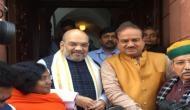 Amit Shah reaches Rajya Sabha ahead of Parliamentary debut