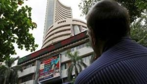 Sensex witnesses 134.95 point surge, Nifty at 10,586.90
