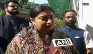 It is victory of development, says Smriti Irani on BJP lead in polls