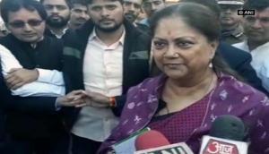 Results show PM Modi's respect in nation, says Vasundhara Raje