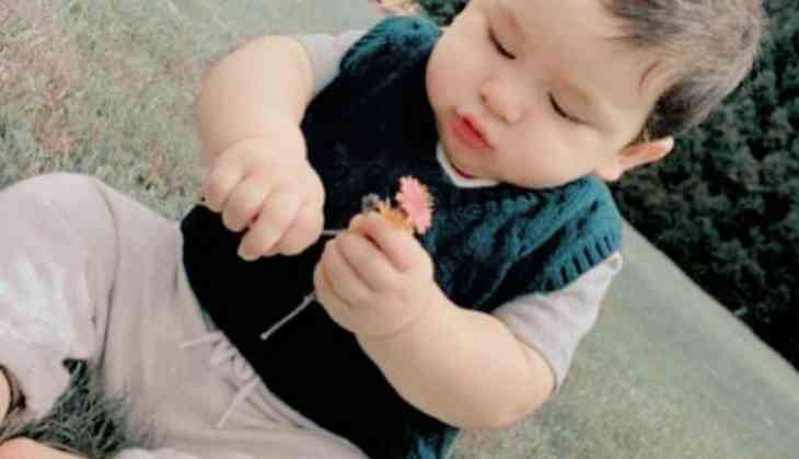 First photos: Taimur's birthday celebrations are on in full swing