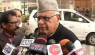 Jammu-Kashmir: Ex-CM Farooq Abdullah detained under stringent PSA