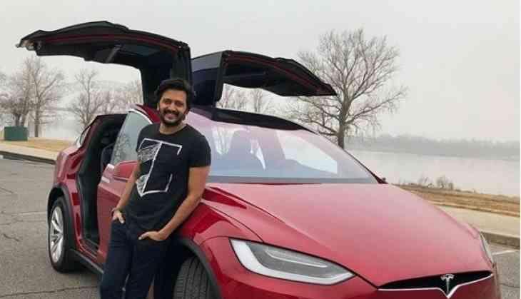 Genelia gifts a Tesla SUV to birthday boy Riteish Deshmukh