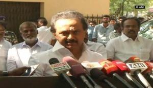 Jaya's hospital video 'politicised to lowest level', says M K Stalin