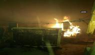 बिहार: नक्सलियों ने रेलवे स्टेशन को फूंका, स्टेशन मास्टर समेत दो लोगों को किया अगवा