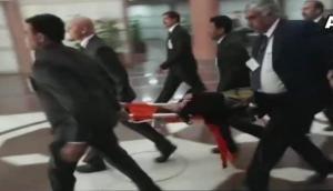 MoS Agriculture Krishna Raj falls ill at BJP parliamentary meet