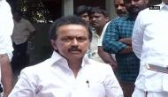 MK Stalin detained by police during protest