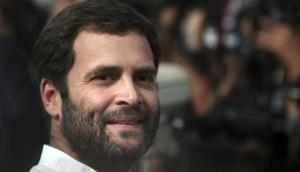 Rahul Gandhi's gesture on flight is winning hearts of people; photo goes viral