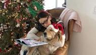ये मशहूर एक्ट्रेस सोते समय अपने कुत्ते को सुनाती है कहानियां