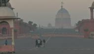 Delhi wakes up to foggy day