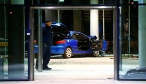 Man crashes car at SPD office in Germany, probe on