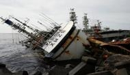 32 missing after tanker, ship collision off China