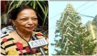 Mumbai family grows 65 feet tall Christmas tree