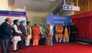 PM Narendra Modi inaugurates Delhi Metro's Magenta line
