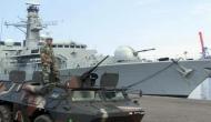 British Navy escorts Russian warship