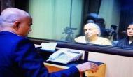 Kulbhushan Jadhav's wife, mother meet EAM Sushma Swaraj