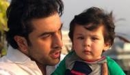 Pictures Inside: Super Cute! Have you seen this adorable picture of Taimur Ali Khan with Mamu Ranbir Kapoor yet?