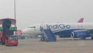 Indigo flight cancelled after fuel leak