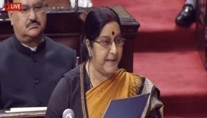 कुलभूषण विवाद: सुषमा स्वराज ने पाक को दिखाया आईना, लोकसभा में लगे पाकिस्तान मुर्दाबाद के नारे